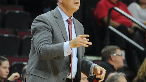 Steve Pikiell will attempt to lead Rutgers to its first win away from the Rutgers Athletic Centersince 2014 in his first everroad trip as head coach of the Scarlet Knights. – Photo by Photo by Dimitri Rodriguez | The Daily Targum