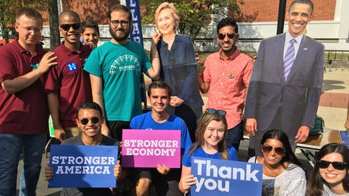 School of Arts and Sciences senior JeremyAtie founded Rutgers for Hillary in 2014 and vowed to help elect the first woman president in United States history.