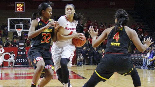 After sitting out with a bone bruise in her leg since Dec. 28, junior guard Briyona Canty looks to help Rutgers gather momentum at a critical part of the season. – Photo by Photo by Edwin Gano | The Daily Targum
