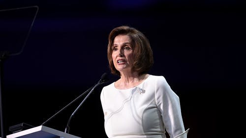 House Speaker Nancy Pelosi (D-Calif.) has engaged in political warfare with her equally malfeasant counterpart, President Donald J. Trump. People are suffering as a result.  – Photo by Wikimedia