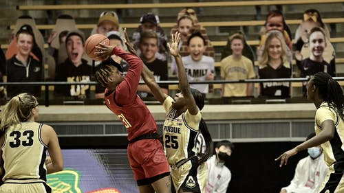 Senior forward Tekia Mack and the Rutgers women's basketball team continue to make up for lost time, having defeated Purdue and staying unbeaten since their return from hiatus. – Photo by Rutgers Women's Basketball / Twitter