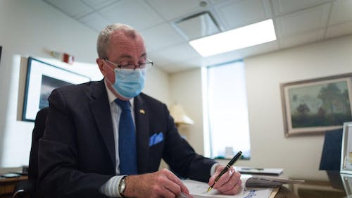Gov. Phil Murphy (D-N.J.) said he met with President-elect Joe Biden over the weekend to discuss a variety of issues, including the coronavirus disease (COVID-19) pandemic and a need for federal investment in the New Jersey infrastructure.  – Photo by Gov. Phil Murphy / Facebook