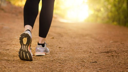 In the Rutgers study, participants were asked to walk everyday in 10 minute increments or longer. The increments were adjusted based on whether the participant was being actively treated for cancer or had already been treated. – Photo by istockphoto
