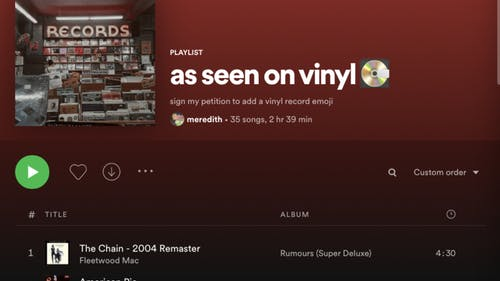 If you're looking to spice up your playlist but want to take a blast to the past, feel free to check out this Spotify playlist.  – Photo by Rania Rizvi