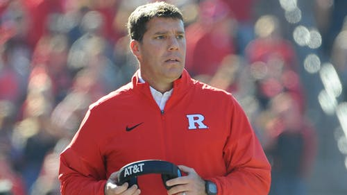 Head coach Chris Ash believes Rutgers is on the precipice of achieving its first Big Ten win after coming so close in its last two outings. – Photo by Dimitri Rodriguez