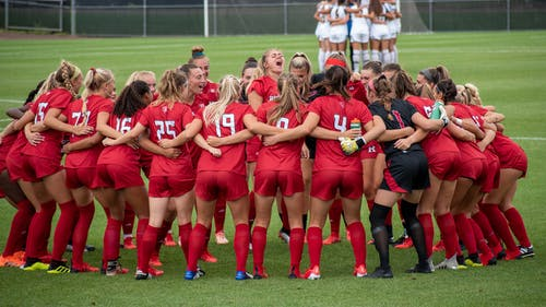 The Rutgers women's soccer team remains undefeated in Big Ten play this season after defeating Minnesota 2-1.  – Photo by Tom Gilbert