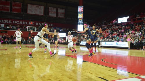 Rutgers looks to start conference play with a victory against Wisconsin on Friday. – Photo by The Daily Targum