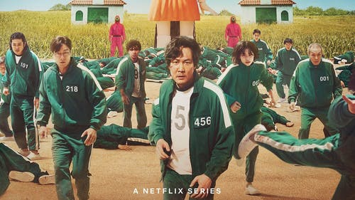 """Korean thriller series """"Squid Game"""" has taken the world by storm and for good reason. This nine-episode show delves into society's deepest issues, such as classism and capitalism. – Photo by Netflix / Twitter"""