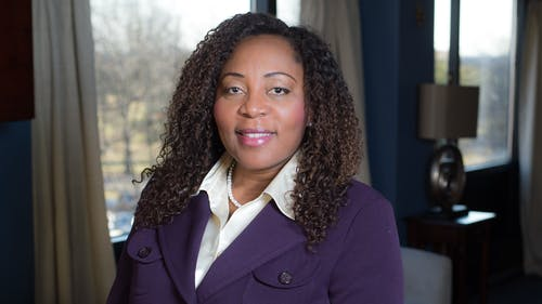 Dean of the Graduate School of Applied and Professional Psychology Francine Conway will take over as Provost and Executive Vice Chancellor of Academic Affairs beginning Nov. 1.  – Photo by Rutgers.edu