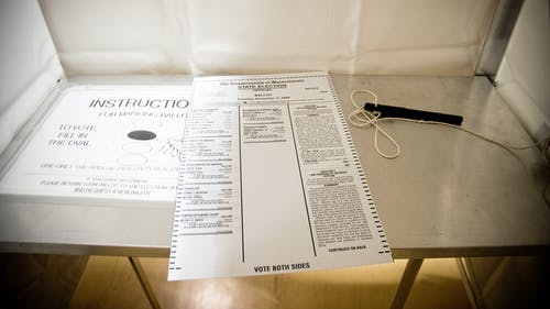 New Jersey's ballot is different than that of other states and is organized in a manner that lists certain candidates above others. – Photo by Heather Katsoulis / Flickr