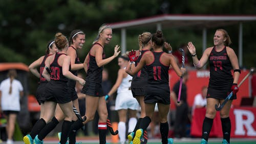 The Rutgers field hockey team will begin its conference-only schedule against Indiana on Feb. 26. – Photo by Rutgers Field Hockey / Twitter