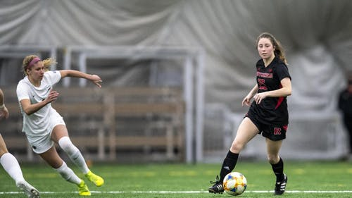 Freshman midfielder Sarah Brocious brings 1 goal and three assists into the Big Ten Tournament, as the Rutgers women's soccer team faces Michigan State in the first round.  – Photo by Scarletknights.com