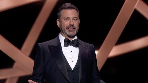 Jimmy Kimmel hosted the 72nd annual Emmys from home on September 20.  – Photo by Youtube