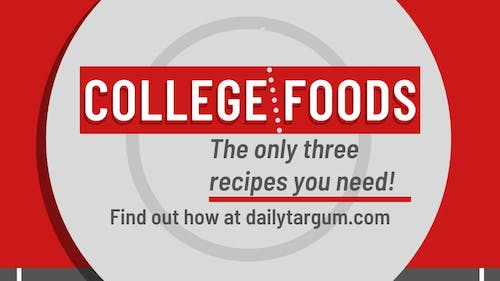 Questionable meals are undoubtedly a staple of the college experience. Since we're all staying home because of the remote semester, here are three ways you can upgrade your favorite snacks.  – Photo by The Daily Targum
