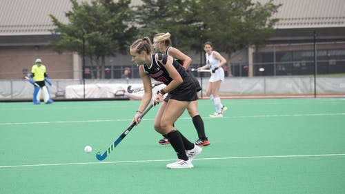 Senior midfielder Milena Redlingshoefer and the Rutgers field hockey team face two more ranked opponents this weekend against Northwestern and Princeton.  – Photo by Emma Garibian