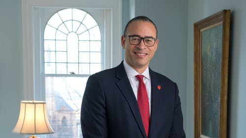 University President Jonathan Holloway will be 1 of the 4 leaders of the Wealth Disparity Task Force, which will advise the New Jersey administration on ways to address wealth inequality in the state. – Photo by Nick Romanenko / Rutgers