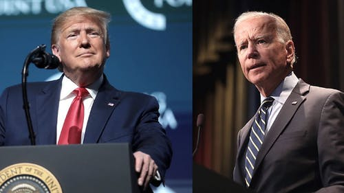 President Donald J. Trump and former Vice President Joe Biden discussed several topics, including the coronavirus pandemic and healthcare, during the final presidential debate. – Photo by Wikimedia
