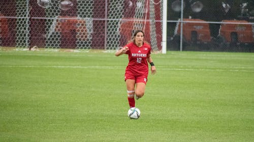 Senior back Gabby Provenzano and the Rutgers women's soccer team continued their hot start to the 2021 season, defeating Nebraska 1-0. – Photo by Tom Gilbert