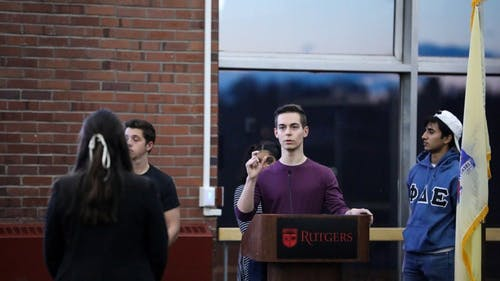 Nicholas Pellitta, chair of the board and a School of Arts and Sciences junior, said that the Rutgers University Student Assembly (RUSA) has been given more than $1 million from student tuition fees to divey among student organizations. Each organization is allowed to submit approval to have two of their events funded by the assembly next semester. – Photo by Declan Intindola