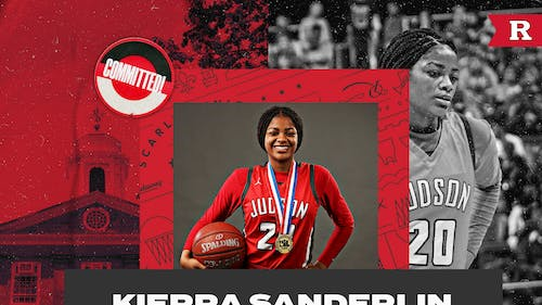 Kierra Sanderlin will be joining the Scarlet Knights for the 2021-22 academic year.  – Photo by Rutgers WBB / Twitter