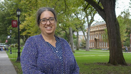 Michelle Stephens, professor in the English Department and the Department of Latino and Caribbean Studies, submitted the grant application on behalf of Rutgers and will serve as the founding director of the Institute. – Photo by Rutgers.edu