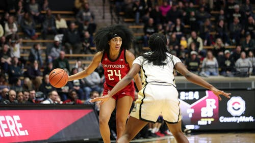 Fifth-year senior guard Arella Guirantes is the fourth Knight to be a finalist for the Senior CLASS Award. – Photo by Ben Solomon / Scarletknights.com