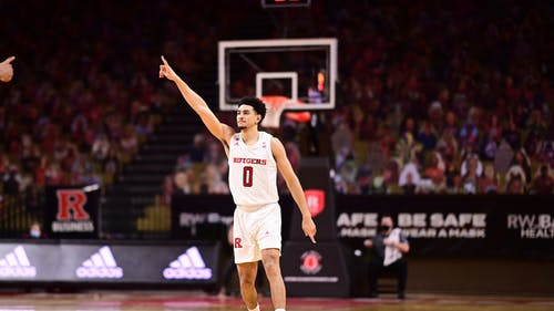 School of Arts and Sciences senior Geo Baker, who plays guard on the Rutgers men's basketball team, is one of the many college athletes who bring in money for schools but reap none of the rewards. – Photo by Rutgers Men's Basketball / Twitter