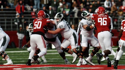 The Rutgers football team has lost six straight games against Michigan State. – Photo by Kelly Carmack