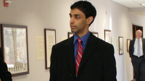 February 2012 | Dharun Ravi, who was convicted of bias intimidation in the death of Tyler Clementi in 2012, plead guilty to attempted invasion of privacy. – Photo by Photo by The Daily Targum | The Daily Targum