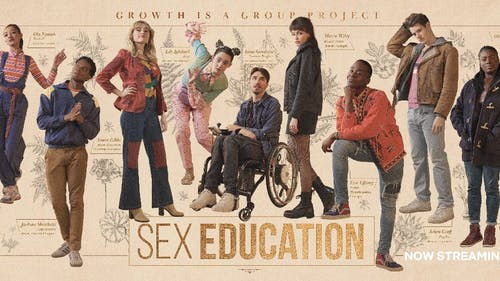 """Between its amazing cast and relatable plot line, the third season of """"Sex Education"""" is just as witty as it is heartfelt and is definitely worth the stream. – Photo by Netflix / Twitter"""