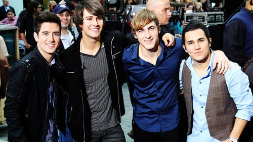 The Big Time Rush boyband recently reunited on social media, and many fans of the boy band and comedy series were excited. – Photo by Wikimedia