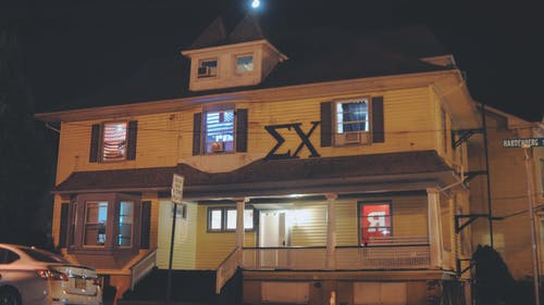According to a University spokesperson, Sigma Chi is currently under investigation by the Office of Student Conduct and is prohibited from hosting events or participating in mixers. The fate of Derby Days, which was set to take place in November, has not yet been determined. – Photo by Dimitri Rodriguez