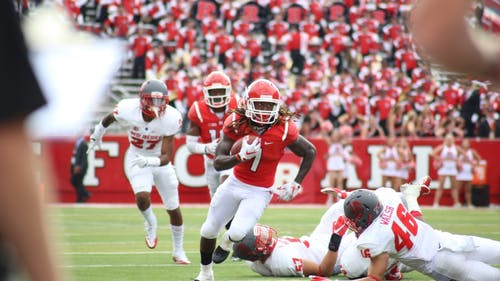 Wide receiver Janarion Grant announced he will return to Rutgers for his fifth year Tuesday in an announcement on his personal Instagram account. – Photo by Dimitri Rodriguez