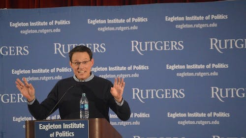 Steve Kornacki, a national political correspondent for MSNBC and NBC, said he first started reporting politics in New Jersey. – Photo by Photo by Benjamin Chelnitsky | The Daily Targum