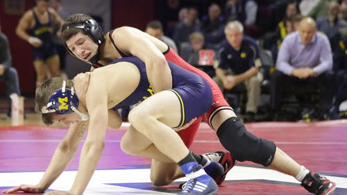 Senior 141-pounder Anthony Ashnault finished fifth at the Big Ten Tournament last season, earning a bid to the NCAA's.