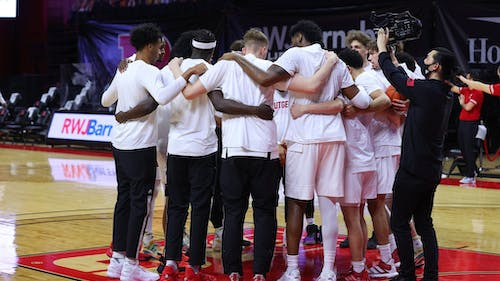 The Rutgers men's basketball team looks to snap a four game losing streak against Penn State. – Photo by Rutgers Men's Basketball / Twitter