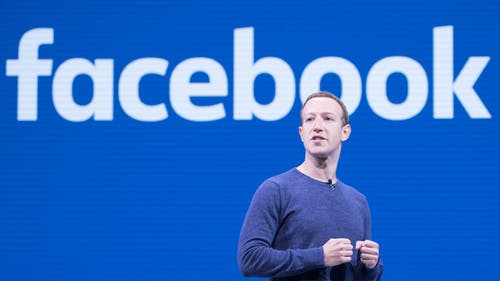 While Facebook's CEO Mark Zuckerberg insists that the app's users have control over their data and privacy, several studies have suggested otherwise.  – Photo by Wikimedia