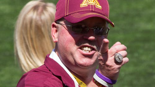 Former Minnesota head coach Jerry Kill is expected to be hired as Rutgers' next offensive coordinator, according to multiple reports. – Photo by Wikipedia Commons