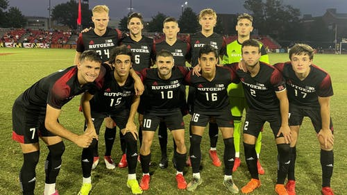 The Rutgers men's soccer team looks to get back to winning when it faces Northwestern on Friday night.  – Photo by Rutgers Men's Soccer / Twitter