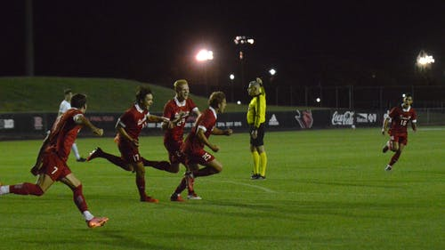 The Rutgers men's soccer team continues its success with its win over UPenn. – Photo by Benjamin Chelnitsky