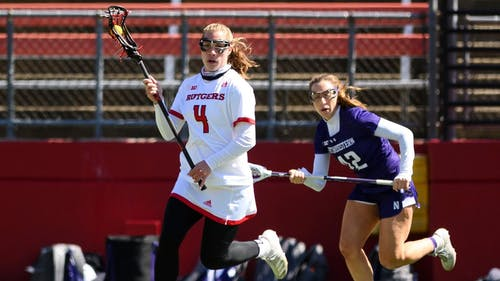Sophomore defender Meghan Ball will look to help defeat a highly ranked opponent and end a six-game losing streak as the Rutgers women's lacrosse team faces Penn State. – Photo by Scarletknights.com