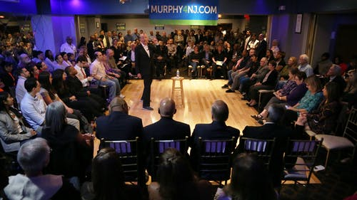 Democratic Candidate in the race for New Jersey governor, Phil Murphy, sat down for an exclusive interview with The Daily Targum to discuss policies regarding immigration and economics. – Photo by Dimitri Rodriguez