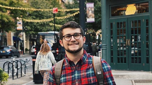 Bartosz Skiba, a School of Arts and Sciences sophomore, is president of the Student Osteopathic Medical Association, which has recently been reestablished on campus after disbanding several years ago. – Photo by Facebook