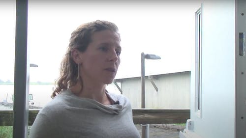 Daphne Munroe, associate professor in the Department of Marine and Coastal Sciences, said oyster farmers play an important role in helping the coastal ecosystem and she hopes these partnerships help further spread that message. – Photo by YouTube
