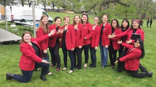 Founded in 1974, Queens Chorale is the oldest all-female chorus group at Rutgers. They will be holding their end-of-semester concert later this month at the Kirkpatrick Chapel. – Photo by Courtesy of Samantha Urena