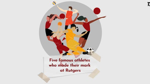 Rutgers is home to some of the most talented athletes in the nation, and a number of these players have gone on to have notable professional careers.  – Photo by Sakina Pervez