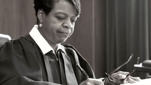 Cheri Beasley, who graduated from Douglass in 1988, said college helped her to explore socially, civically and academically, which later formed her career. She was president of Nicholas Hall and a member of the Public Leadership Education Network while she was a student. – Photo by Photo by Vimeo   The Daily Targum
