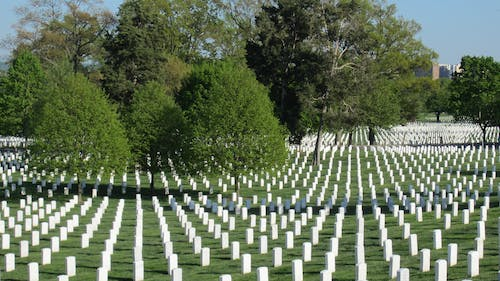 Pictured above is Arlington National Cemetery, where many of America's soldiers lie. This year is one of the most important ever to appreciate those who sacrifice for the common good. – Photo by Wikimedia