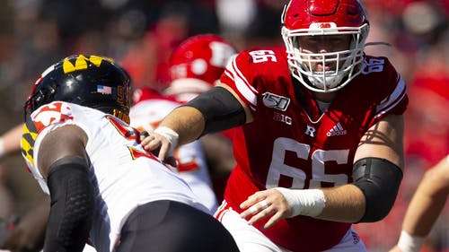 Senior right guard Nick Krimin was on the field for 756 snaps last year. – Photo by Ben Solomon/ Rutgers Athletics