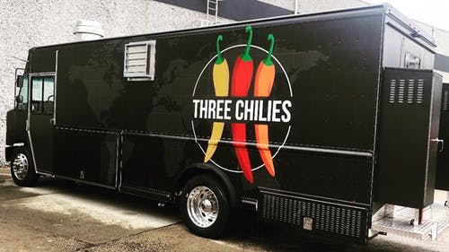 The Three Chilies food truck currently only operates on Cook campus and on the College Avenue campus.